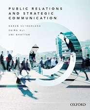 Public Relations and Strategic Communication