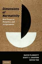 Dimensions of Normativity
