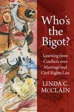 Who's the Bigot?