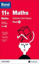 Bond 11+: Maths: Standard Test Papers: Pack 1