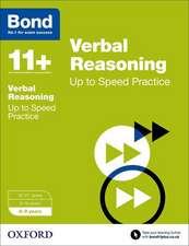 Bond 11+: Verbal Reasoning: Up to Speed Papers: 8-9 years