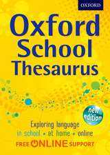 Oxford Dictionaries: Oxford School Thesaurus
