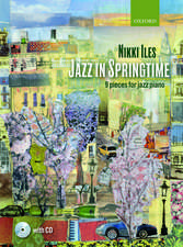 Jazz in Springtime + CD: 9 pieces for jazz piano