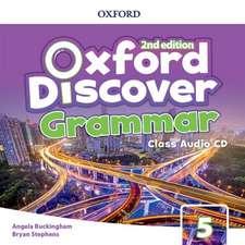 Oxford Discover: Level 5: Grammar Class Audio CDs