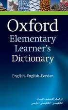 Oxford Elementary Learner's Dictionary: English-English-Persian