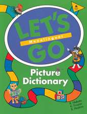 Let's Go Picture Dictionary: Monolingual English Edition