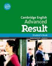 Cambridge English Advanced Result: Student'S Book