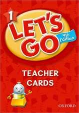 Let's Go: 1: Teacher Cards