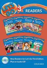 Let's Go: 3: Readers Pack