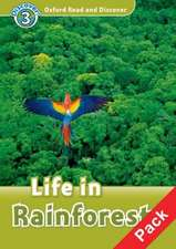 Oxford Read and Discover: Level 3: Life in Rainforests Audio CD Pack