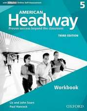 American Headway: Five: Workbook with iChecker: Proven Success beyond the classroom