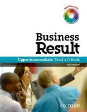 Business Result: Upper-Intermediate: Teacher's Book Pack: Business Result DVD Edition Teacher's Book with Class DVD and Teacher Training DVD