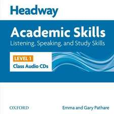 Headway Academic Skills: 1: Listening, Speaking, and Study Skills Class Audio CDs (2)