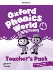 Oxford Phonics World: Level 4: Teacher's Pack with Classroom Presentation Tool 4