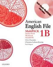 American English File Level 1: Student Book/Workbook Multipack B