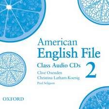 American English File Level 2: Class Audio CDs (3)