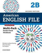 American English File: Level 2: Multipack B with Online Practice and iChecker