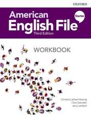 American English File: Starter: Workbook