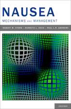 Nausea: Mechanisms and Management