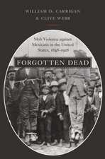 Forgotten Dead: Mob Violence against Mexicans in the United States, 1848-1928