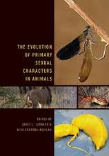 The Evolution of Primary Sexual Characters in Animals