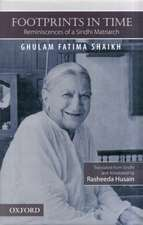 Footprints in Time: Reminiscences of a Sindhi Matriarch
