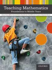 Teaching Mathematics Foundations to Middle Years:  Rethinking Professional Experiences