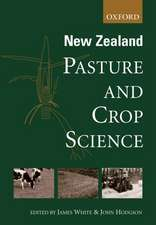 New Zealand Pasture and Crop Science
