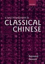 A New Introduction to Classical Chinese