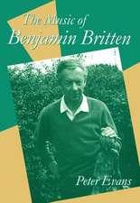 The Music of Benjamin Britten