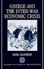 Greece and the Inter-War Economic Crisis