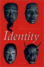 Identity: Essays Based on Herbert Spencer Lectures Given in the University of Oxford