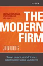 The Modern Firm: Organizational Design for Performance and Growth
