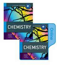 IB Chemistry Print and Online Course Book Pack: Oxford IB Diploma Programme