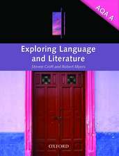 Exploring Language & Literature for AQA A
