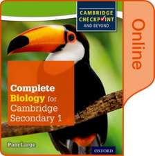 Complete Biology for Cambridge Lower Secondary: Online Student Book