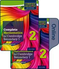 Complete Mathematics for Cambridge Lower Secondary Book 2: Print and Online Student Book
