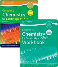Complete Chemistry for Cambridge IGCSE® Student Book and Workbook Pack