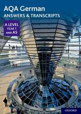AQA German A Level Year 1 and AS Answers & Transcripts