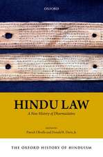 The Oxford History of Hinduism: Hindu Law: A New History of Dharmaśāstra