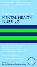 Oxford Handbook of Mental Health Nursing