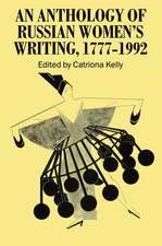 An Anthology of Russian Women's Writing 1777-1992