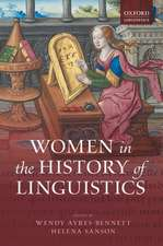 Women in the History of Linguistics