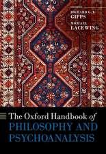The Oxford Handbook of Philosophy and Psychoanalysis