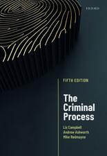 The Criminal Process