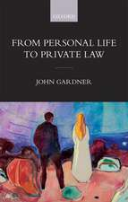 From Personal Life to Private Law