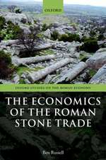 The Economics of the Roman Stone Trade