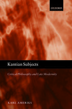 Kantian Subjects
