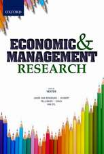 Economic and Management Research