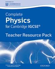 Complete Physics for Cambridge IGCSE®: Teacher's Resource Pack